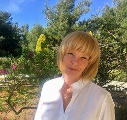 Sarah Hatjipavlis family celebrant in Rhodes